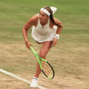 Ostapenco at wimbledon 2017